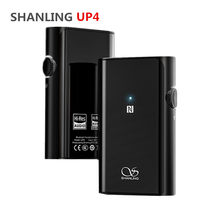 SHANLING UP4 Amplifier Bluetooth 5.0 Balanced Output Dual ES9218P DAC/AMP Portable HiFi CSR8675 Headphone Amplifier