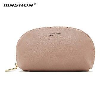 Bolsa de cosméticos 2020 nuevas de cuero cartera para hacer bolsas de gran capacidad maquillaje bolsa de viaje de la moda de las mujeres, bolsa de alta calidad