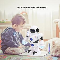 Espaço inteligente danncer robô aparência suave excelente artesanato design delicado eletrônico crianças presentes puzzle brinquedo