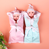 Reborn baby doll 30cm doll full silicone body baby doll in 12 inches reborn doll with opened eyes