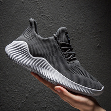 Hot Sale Fashion Men Casual Shoes Mesh Breathable Sneakers W