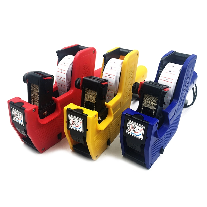 Multi-purpose Printing Paper For MX-5500 Supermarket Retail Store Handheld Price Label 8-digit Single-row Label Machine