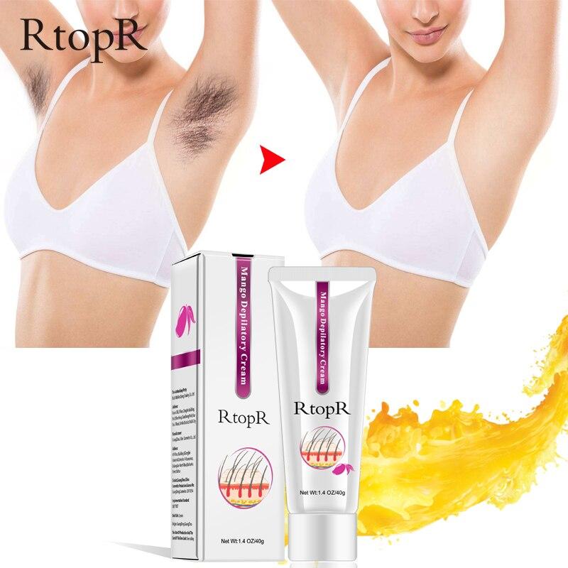 40g Mango Depilatory Cream Painless Effective Hair Removal  Whitening Hand Leg Armpit Hair Loss Product Summer Essential TSLM1