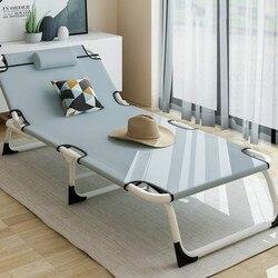 Wielofunkcyjne łóżko składane łóżko pojedyncze domowe łóżko obiadowe dla dorosłych Siesta Lounge Office proste łóżko marszowe na