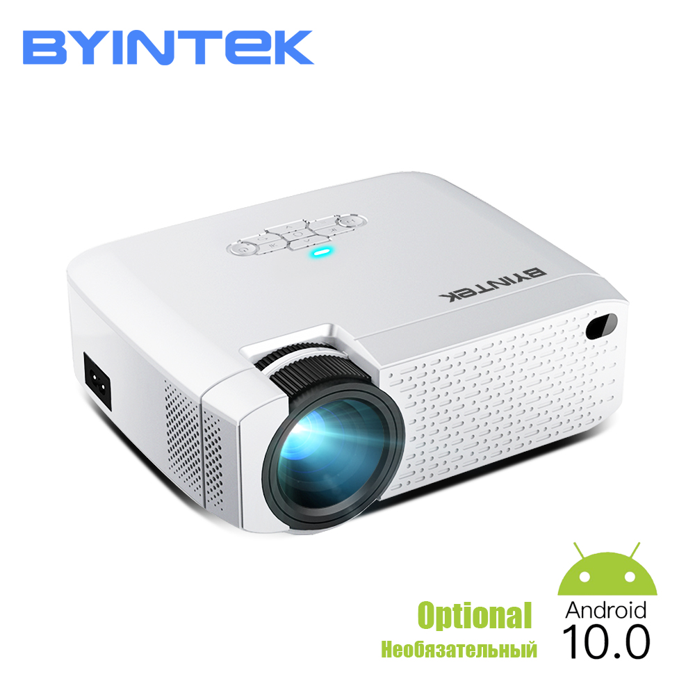 BYINTEK C520 2020 Latest Mini Projector,Portable LED For Cell Phone 1080P 3D 4K Home Movie Theater (Optional Android 10 TV Box)