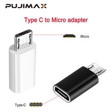 Кабель-адаптер PUJIMAX Type C к Micro USB для телефонов Android, зарядное устройство, конвертер для Samsung Xiaomi Mi6 Mi5, адаптер для зарядки и синхронизации данны...