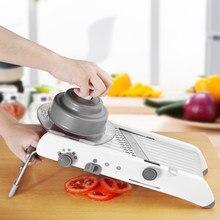 Mandoline slicer manual cortador de legumes para cozinha terka aço inoxidável ajustável faca ralador queijo acessórios cozinha