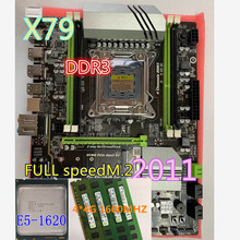 Cpu Combos Placa-Me Ddr3 Ram Pci-E E5 1620 X79 Turbo JSFFFL M.2 Atx Pc3 12800r 16-Gb