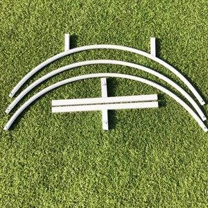 Image 5 - Círculo de ferro casamento arco adereços fundo decoração única prateleira ao ar livre gramado flor porta rack festa decoração quadro