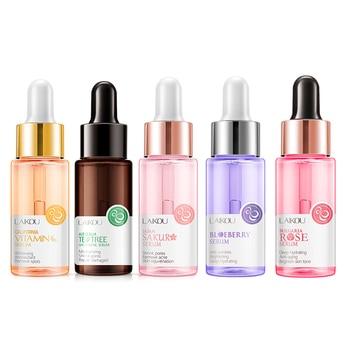 17ml Sakura Essence Anti-Aging Hyaluronic Acid Vitamin C Blueberry Pure Whitening Anti-aging Face Serum Face Skin Care Dropship 1
