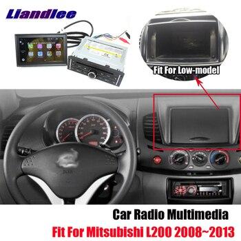 Liandlee Android 8 Car GPS For Mitsubishi L200 2008~2013 Radio Navi Navigation Maps DVD Carplay player HD Screen OBD2 Multimedia