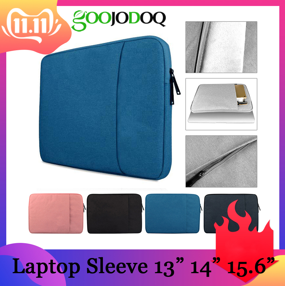 GOOJODOQ Laptop Sleeve <font><b>Notebook</b></font> Bag <font><b>Pouch</b></font> Case for Macbook Air 11 13 12 14 15 13.3 15.4 <font><b>15.6</b></font> for Lenovo ASUS/Surface Pro 3 Pro 4 image