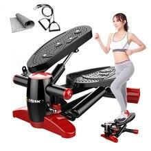 Steppers беговые машины спортивные мини многофункциональные беговые дорожки для дома оборудованные тихие педали для похудения фитнес-оборудование