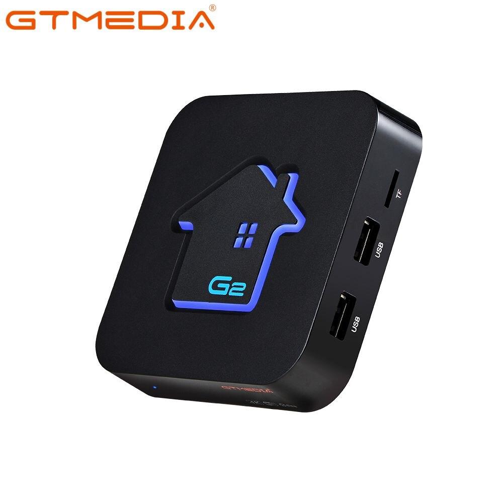 G2 Android TV Box 2GB RAM + 16GB ROM TV Box, WiFi 2.4G/5G, 3D Ultra HD 4 K, Widevine L1 Smart TV Box montre netflix en HD