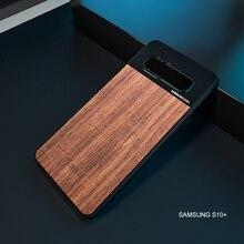 Kase Lente Del Telefono Del Moblie di Legno Del Supporto di Caso per Samsung S20/S20 +/S10 +/S10/S9 +/nota 8 e 17 millimetri di Montaggio Smartphone