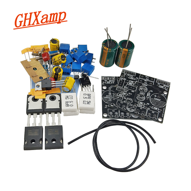 Ghxamp 1969M FET Pre bile Amplifier Kits Board 1969 IRF250 Tube amplifier Board Bile Dual Channel UHC mos DC15 60V 1Pairs
