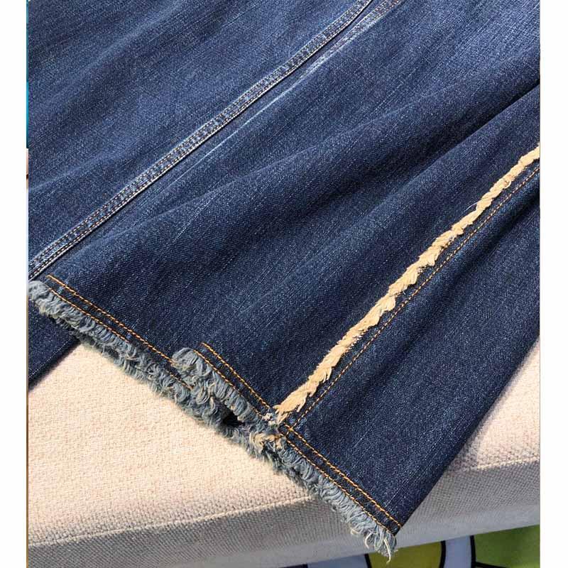 Высокое качество, повседневные винтажные Эластичные Обтягивающие зимние джинсы, женские узкие брюки с карманами, женские осенние длинные д... - 6