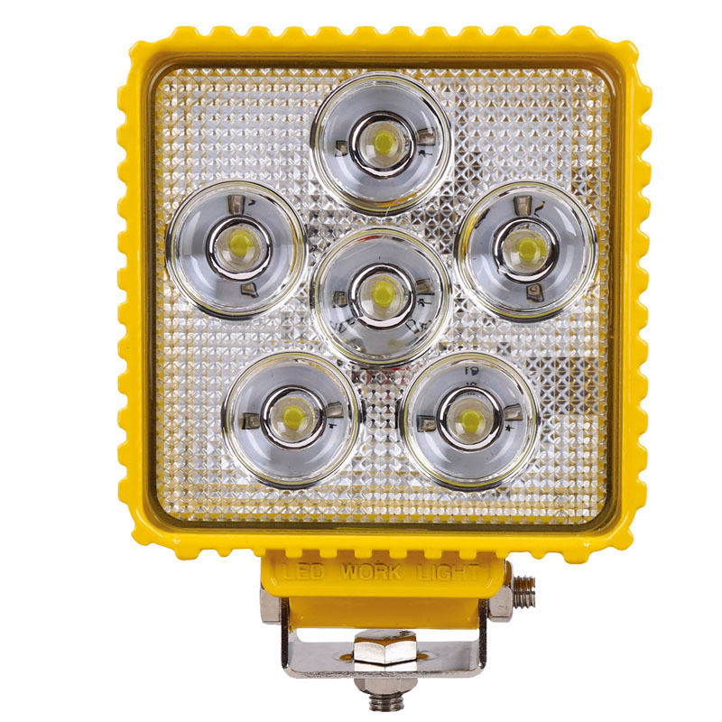 Equipment Manufacturers Selling Converted Truck Working Lamp Dome Light 18 W Square Super Bright LED Work Light