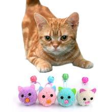 1 шт забавная игрушка для домашних животных с колокольчиком