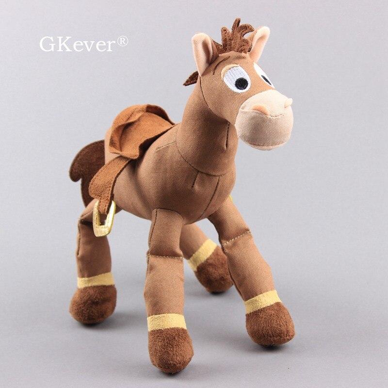 Story 4 Forky Ducky Bullseye Horse Plush Toys Stuffed Dolls Cool Horses 10