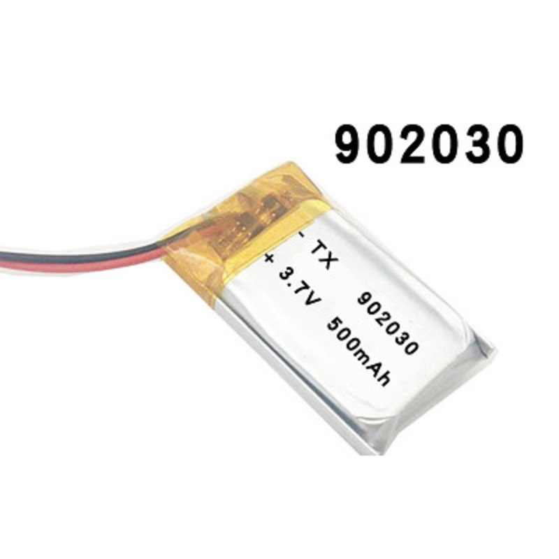 3.7V 500 Mah 902030 Polymer Lithium Ion/Li-Ion Batterij Voor Gps Mp3 Mp4 Mp5 Dvd Bluetooth Model Speelgoed mobiele Bluetooth