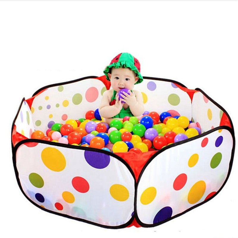 Child's Toy 25/50Pcs/set 5.5CM Eco-Friendly Soft Water Pool Ocean Wave Ball Pits Baby Toys Stress Air Ball Outdoor Fun Sports