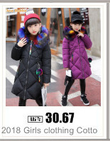 Hc7be7fa9a13e430ba784e981317295847 2019 New Russia Baby costume rompers Clothes cold Winter Boy Girl Garment Thicken Warm Comfortable Pure Cotton coat jacket kids
