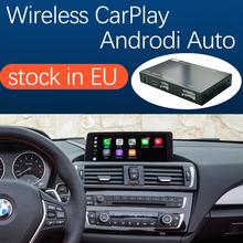 Bezprzewodowy Apple CarPlay Android Auto dla BMW serii 1 2 F20 F21 F22 F23 F45 2011-2016 z funkcją odtwarzania samochodu z lustrzanym łączem tanie tanio Road Top CN (pochodzenie) Jeden Din 128G Dvd-r rw Video cd Dvd-ram Jpeg 118i 2012 2015 2014 2013 12 v 150*100*23 mm 1S-CIC-NBT