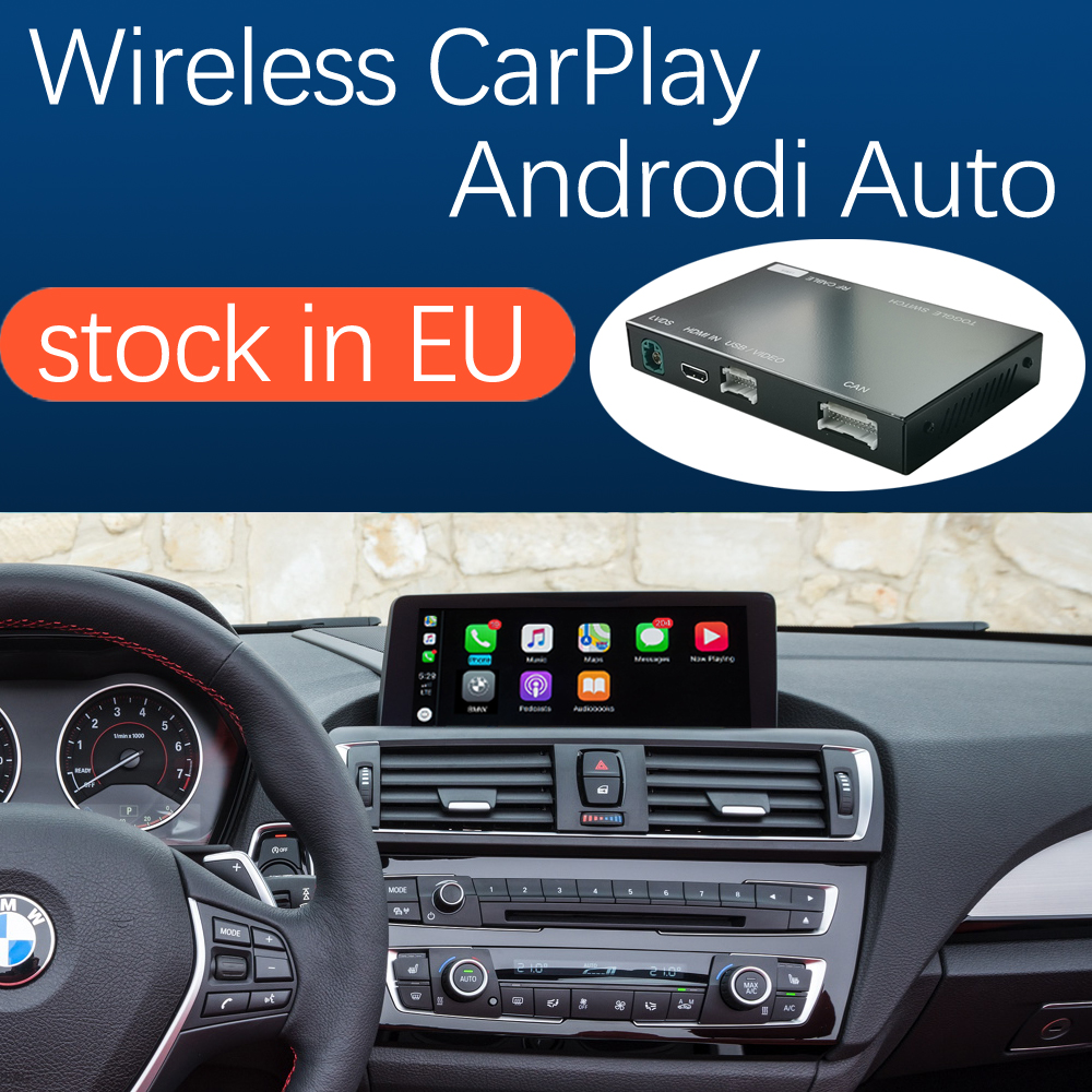 Беспроводная автоигра Apple CarPlay, Android, для BMW 1, 2 серии, F20, F21, F22, F23, F45, 2011-2016, с функцией Mirror Link, AirPlay