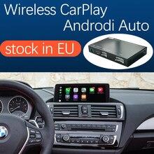 Automóvel sem fio do andróide do carplay da apple para bmw série 1 2 f20 f21 f22 f23 f45 2011-2016, com função do jogo do carro do airplay da relação do espelho