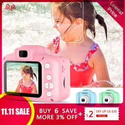 2 дюйма HD Экран платной цифровой мини-Камера, детские футболки с принтом в виде героев мультфильмов, Милая футболка Камера игрушки на