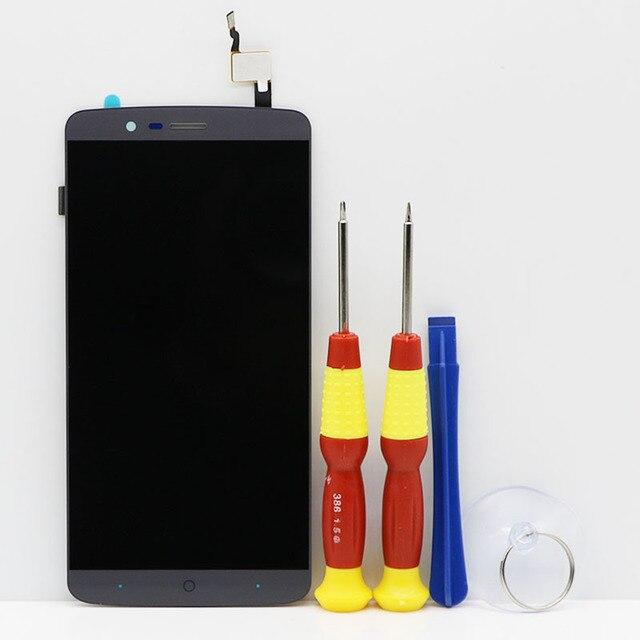 עבור אנדרואיד 5.1 Elephone P8000 LCD תצוגה + מגע עצרת מסך LCD Digitizer זכוכית פנל החלפת לא fit אנדרואיד 6.0