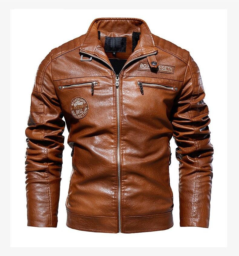 Hc7bf75d46b84414ba29cbe601ffff0756 Men's Natural Real Leather Jacket Men Motorcycle Hip Hop Biker Winter Coat Men Warm Genuine Leather Jackets plus size 3XL