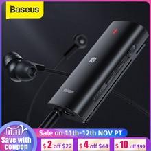 Baseus & Bongiovi Bluetooth Ontvanger 5.0 Ondersteuning Microfoon 3.5Mm Aux Bluetooth Adapter Aptx Dps 3D Stereo Live Geluid Effect