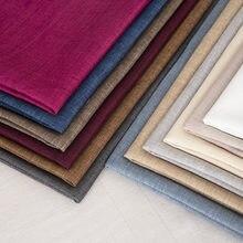 Housse de coussin en tissu lin résistant à l'usure, 100x150 cm, pour meubles de canapé, matériel de couture, bricolage