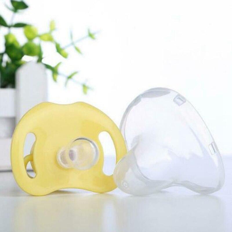 Прекрасный более 3 месяцев новорожденные дети соски зубы силиконовые Ортодонтические пустышки соска