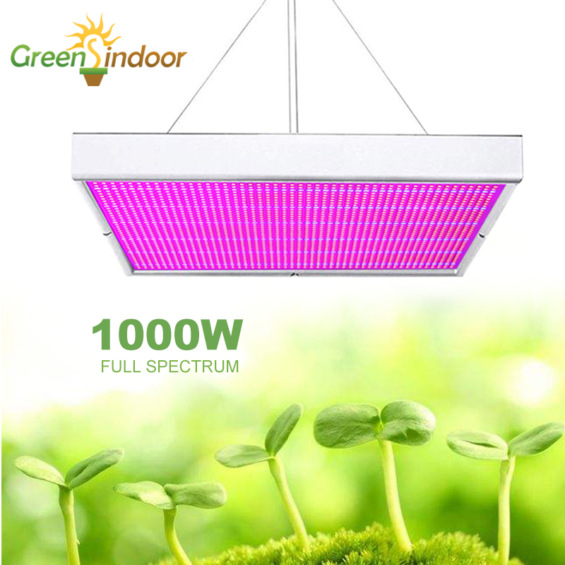 Full Spectrum 1000W Phyto Lamp LED Plant Grow Light Led Lights for Indoor Growing Fitolamp Grow Tent Box Room Lighting For Plant