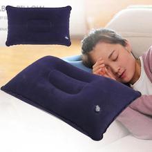 Portable folding pillow cushion outdoor inflatable pillow camping hiking cushion travel rest sleep airplane pillow cushion heat naturehike inflatable outdoor camping pillow ultralight travel pillow with pocket potable inflation cushion