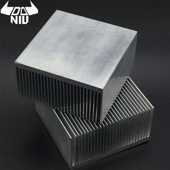 DANIU Aluminum Alloy Heatsink Cooling Pad for High Power LED IC Chip Cooler Radiator Heat Sink 69mm/100mm/150mm/200mm/300mm image