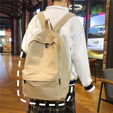 2020 Simple Classic Designe Cotton Women Backpack School Student Book Bag Leisure Travel Young Backbags for school girls boys