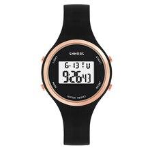 часы Feminino 2019 новые часы Relojes дети часы мода дети симпатичные резиновые кожаные кварцевые девочка силиконовые часы цифровой