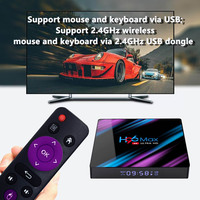 android 4 2 Google Play Tv box android 9.0 H96 MAX Rockchip 4G 16GB 32GB 64GB Android tv box 2.4/5.0G WiFi Bluetooth 4.0 4K 3D Android box (2)