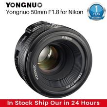 YONGNUO YN50MM F1.8 Camera Ống Kính Cho Máy Nikon D800 D5100 D5200 D5300 Khẩu Độ Lớn AF MF Ống Kính Máy Cho Sony ZV 1 RX100 VII