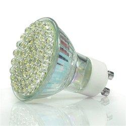 10x3.6 W/60 GU10 LED światło smd żarówki dzień/ciepły biały wysoka moc na