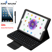цена на For Apple iPad 9.7 2017 2018 Wireless Bluetooth Keyboard Case Cover For iPad 5th / 6th / Air / Air 2 / Pro 9.7 Keyboard Case