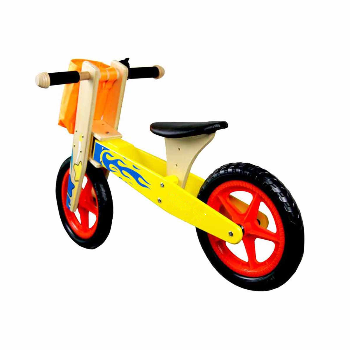 12 Inch Wooden Balance Bike Toddler No Pedals For 1 – 5 Year Old 1