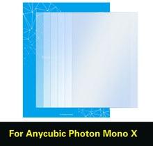 SLA/LCD 3D Printer Part 5PCS FEP Film For ANYCUBIC Photon Mono X 0.15mm*260*165mm UV Resin 3DPrinter