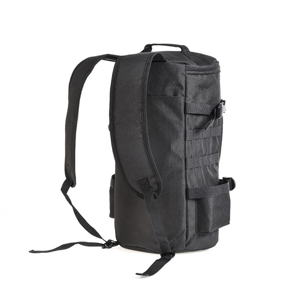 esporte viagem ombro carretel isca haste armazenamento mochila