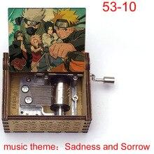 Music-Box Figure Itachi Neji Christmas-Gift Sorrow And Print Fans Obito Sadness Kakashi