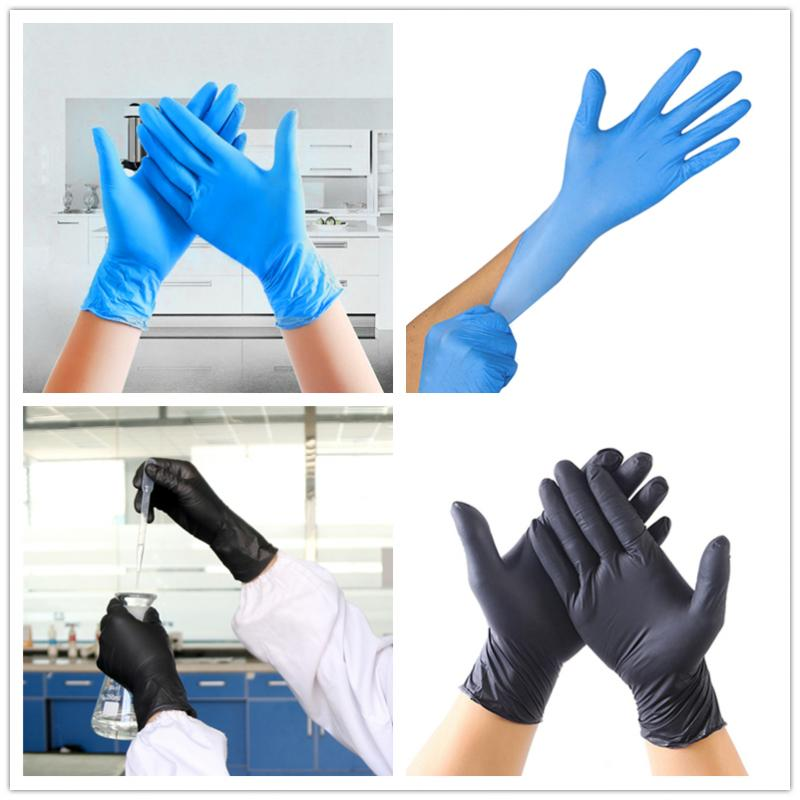 100 pcs <font><b>Disposable</b></font> <font><b>Gloves</b></font> <font><b>Latex</b></font> Cleaning Food <font><b>Gloves</b></font> Universal Household Garden Cleaning <font><b>Gloves</b></font> Home Cleaning Rubber Drop Ship image